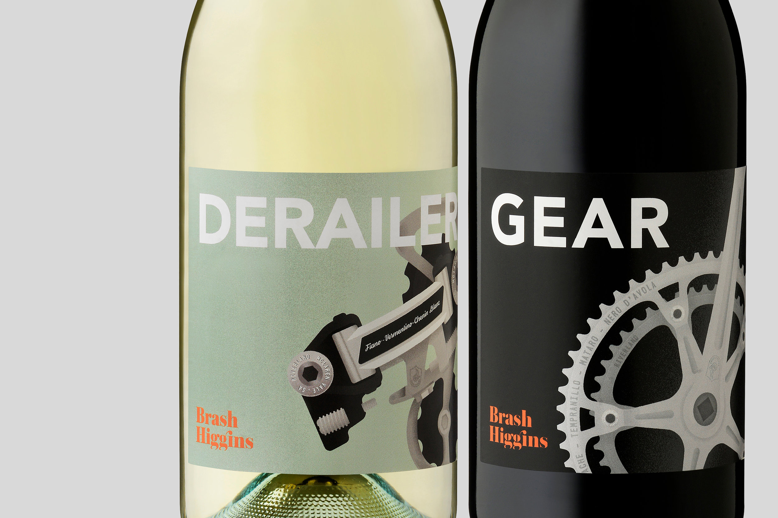 Brash Higgins Wines - Packaging, Illustration