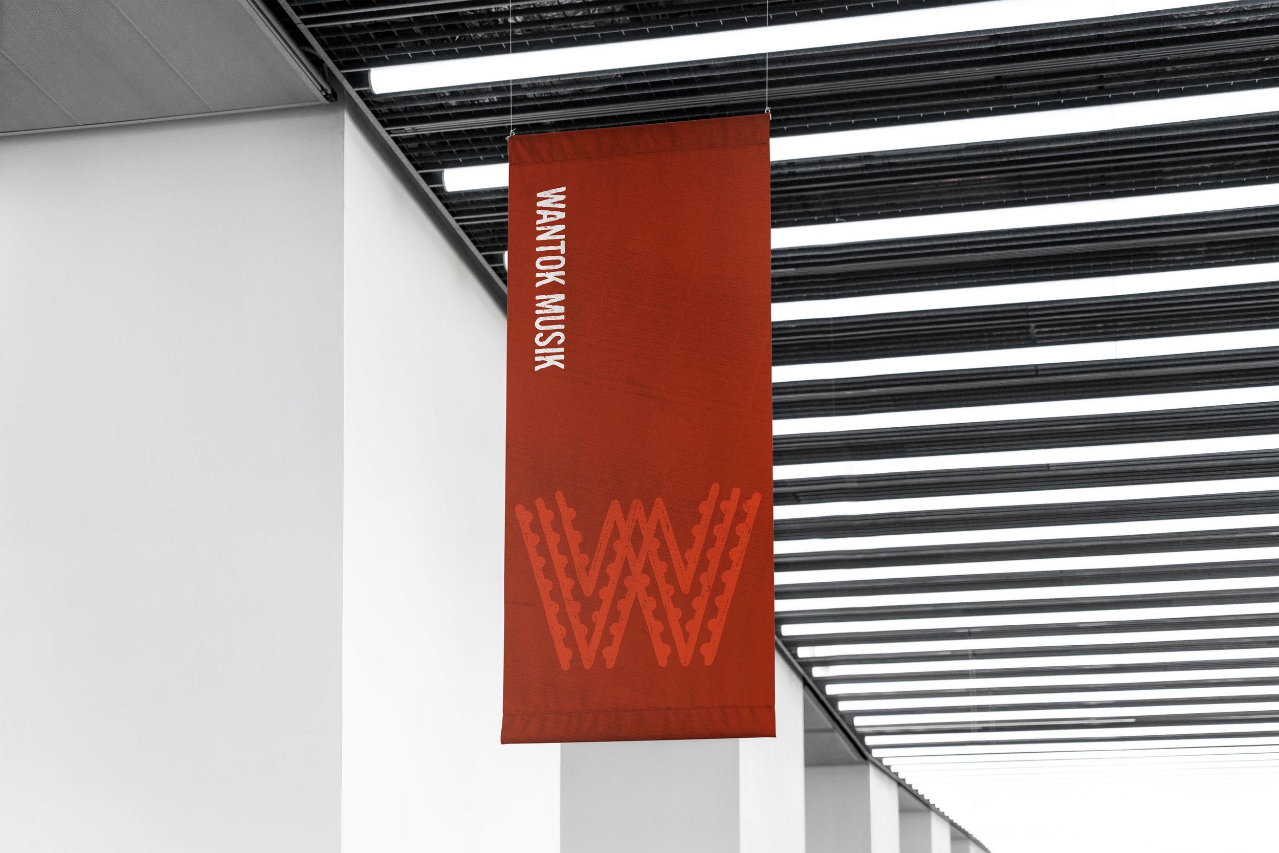 Wantok Musik - Branding, Collateral