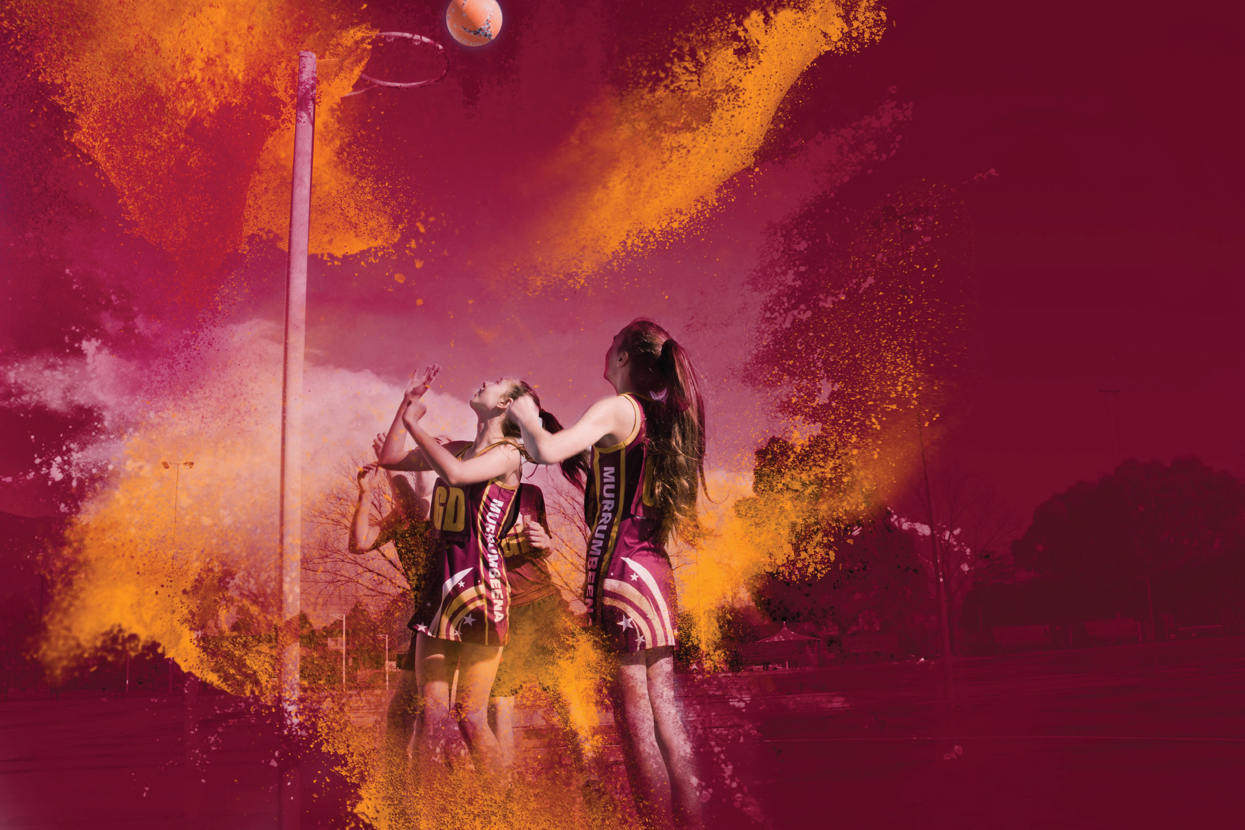 Murrumbeena Netball Club Imagery