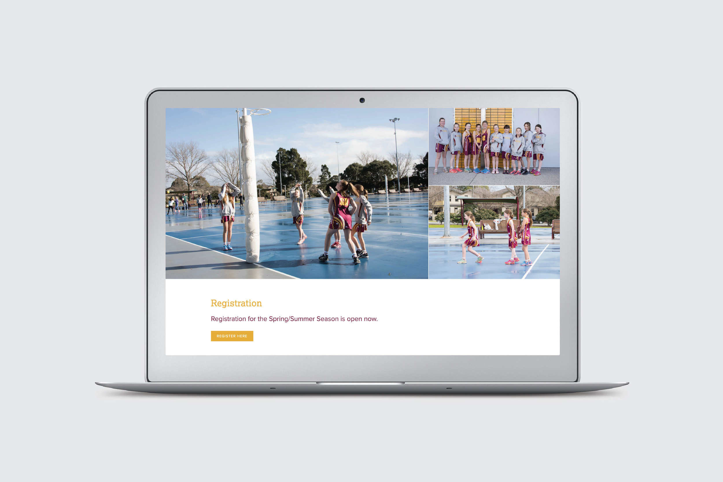 Murrumbeena Netball Club Website