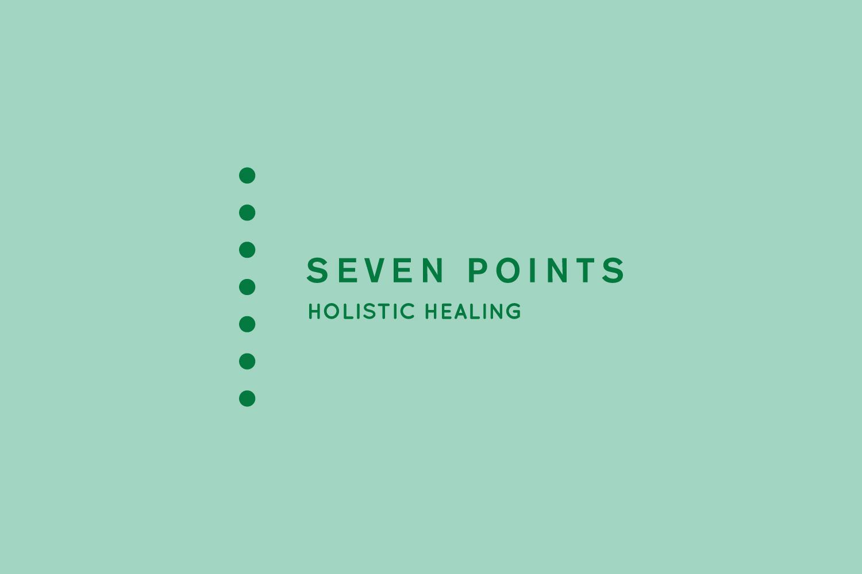 Seven Points logo and branding design melbourne