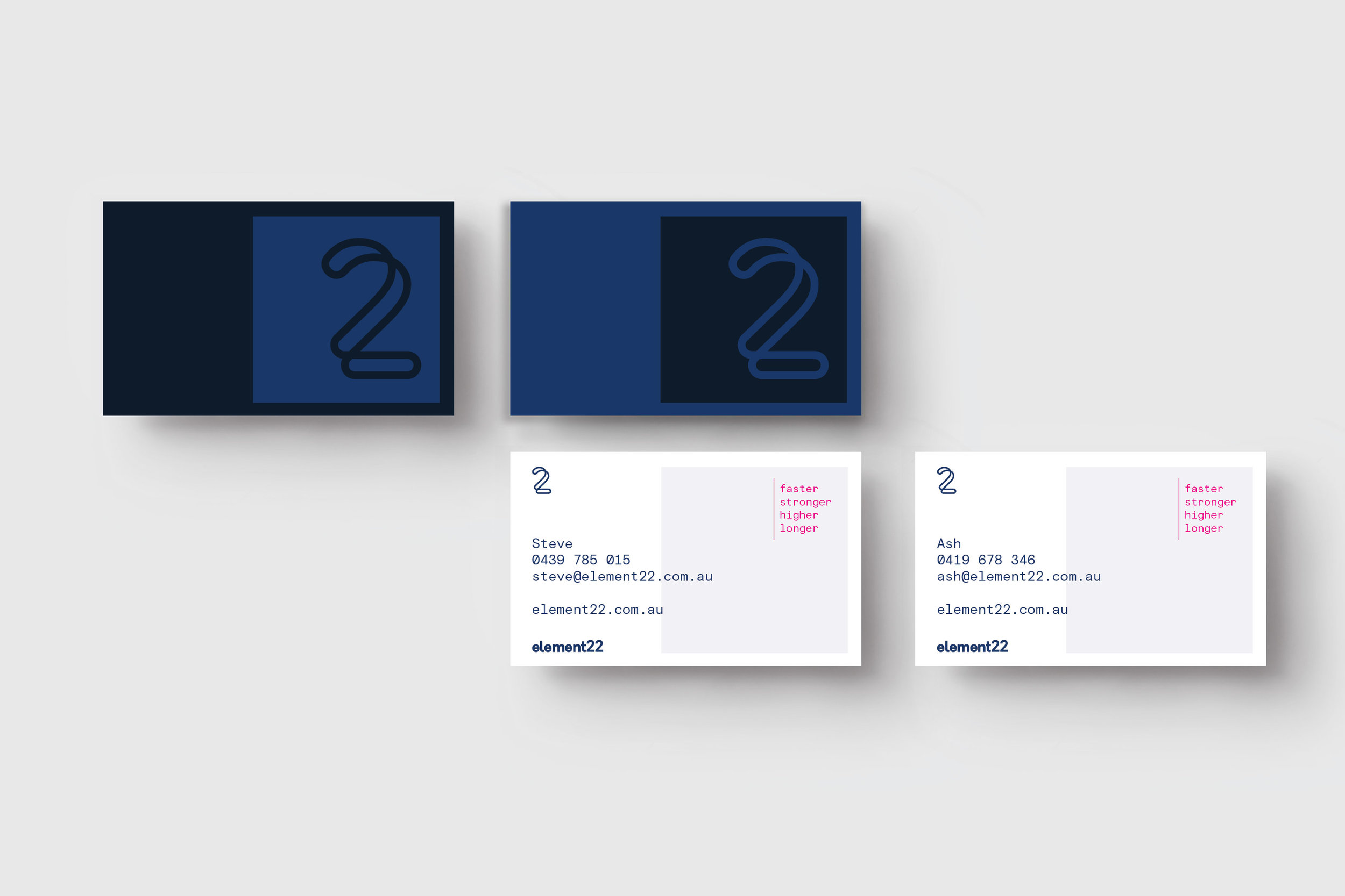 Element22 Business Cards