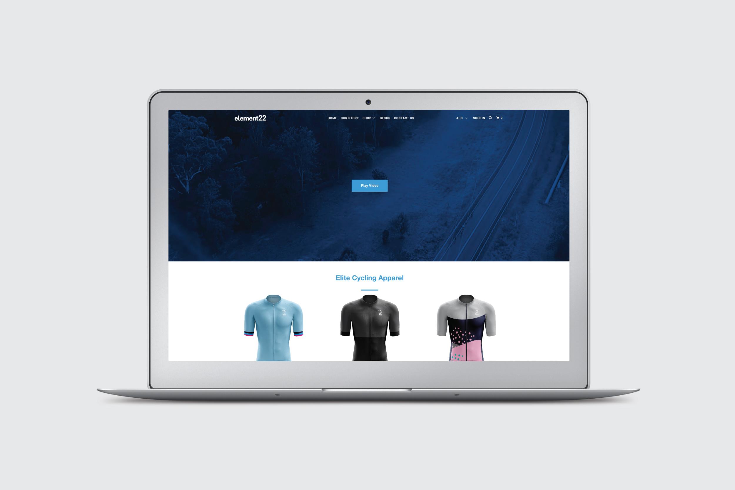 Element 22 Website