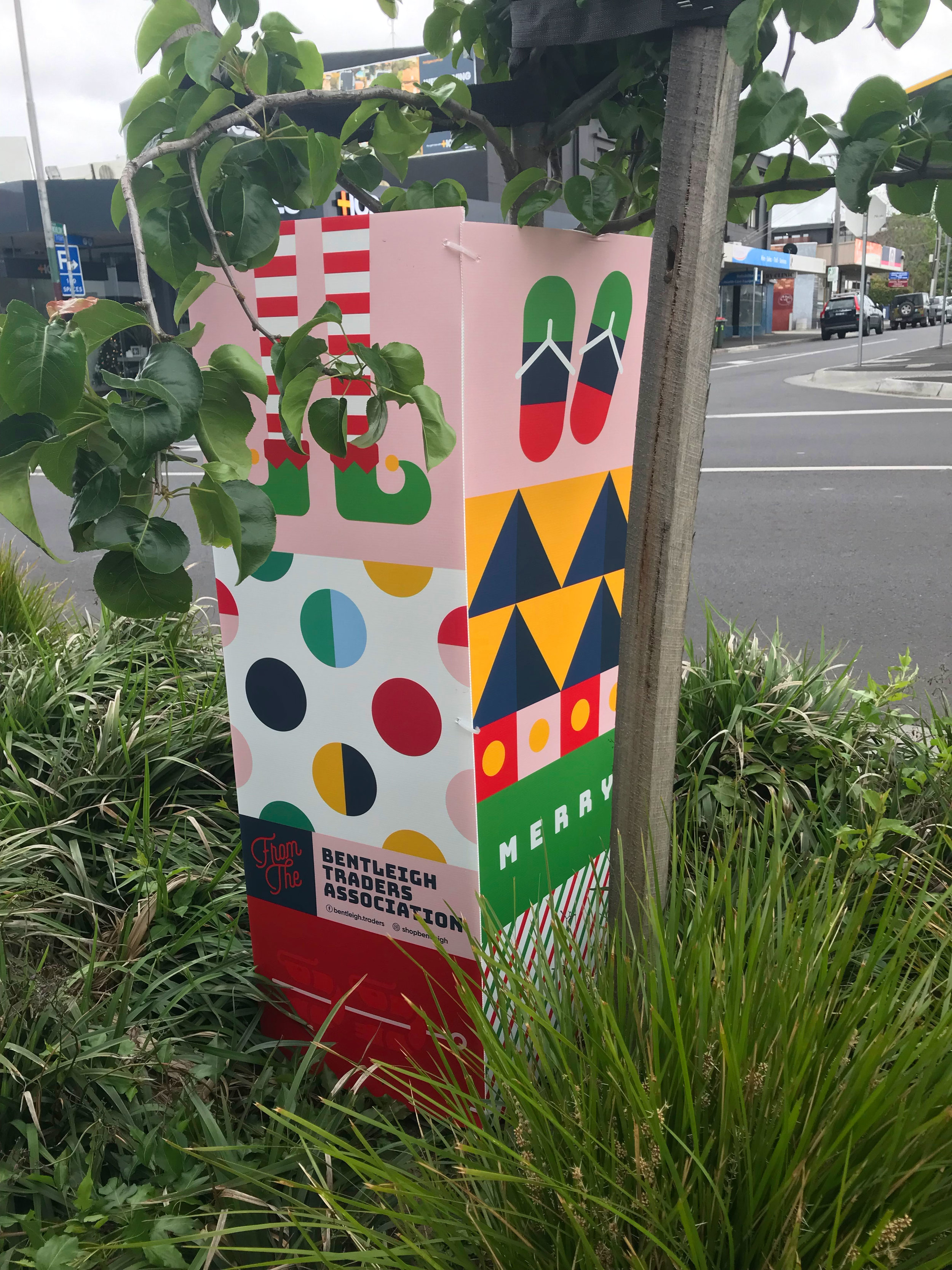 Bentleigh Traders christmas decorations