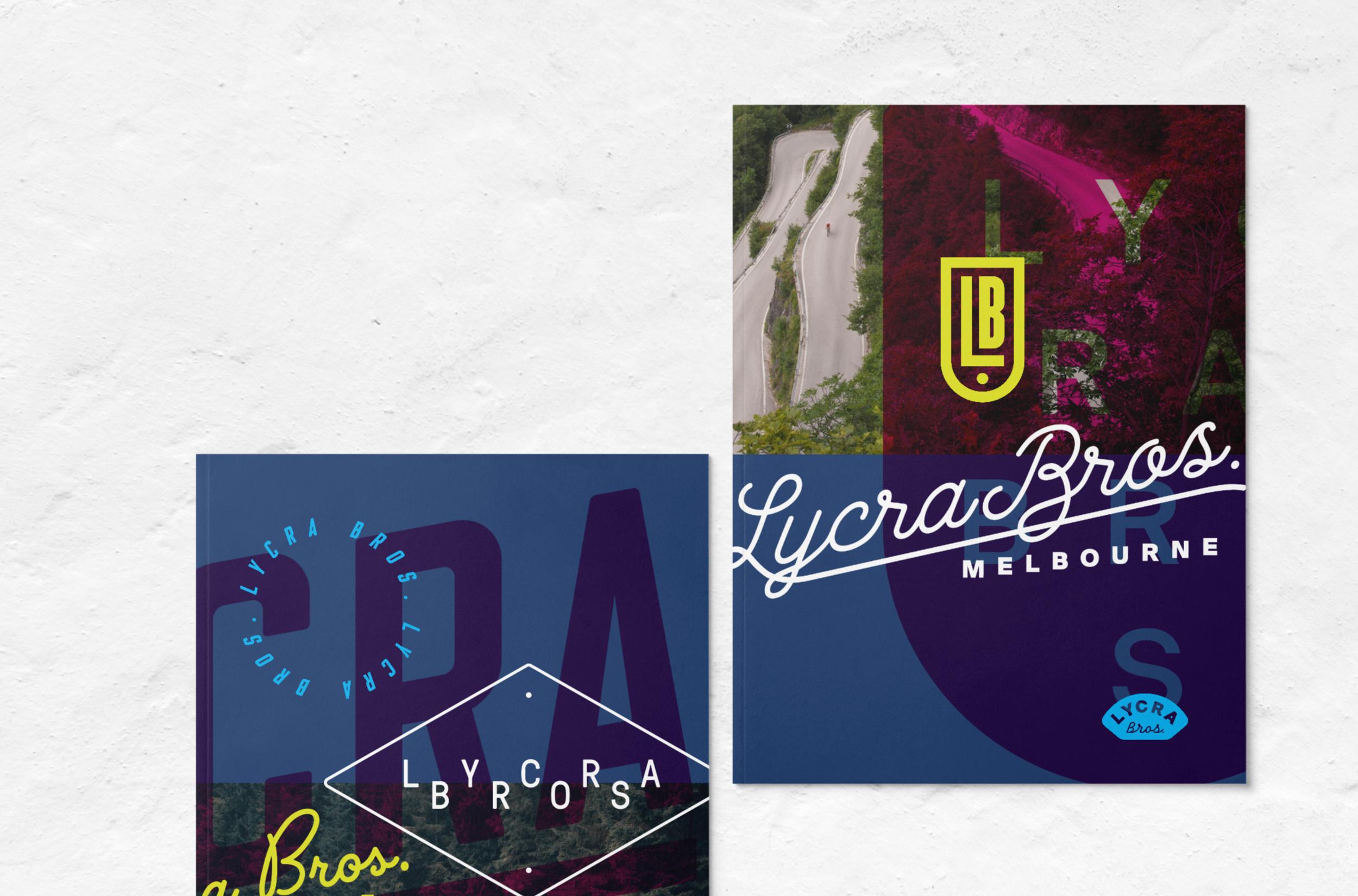 Lycra Bros. magazine