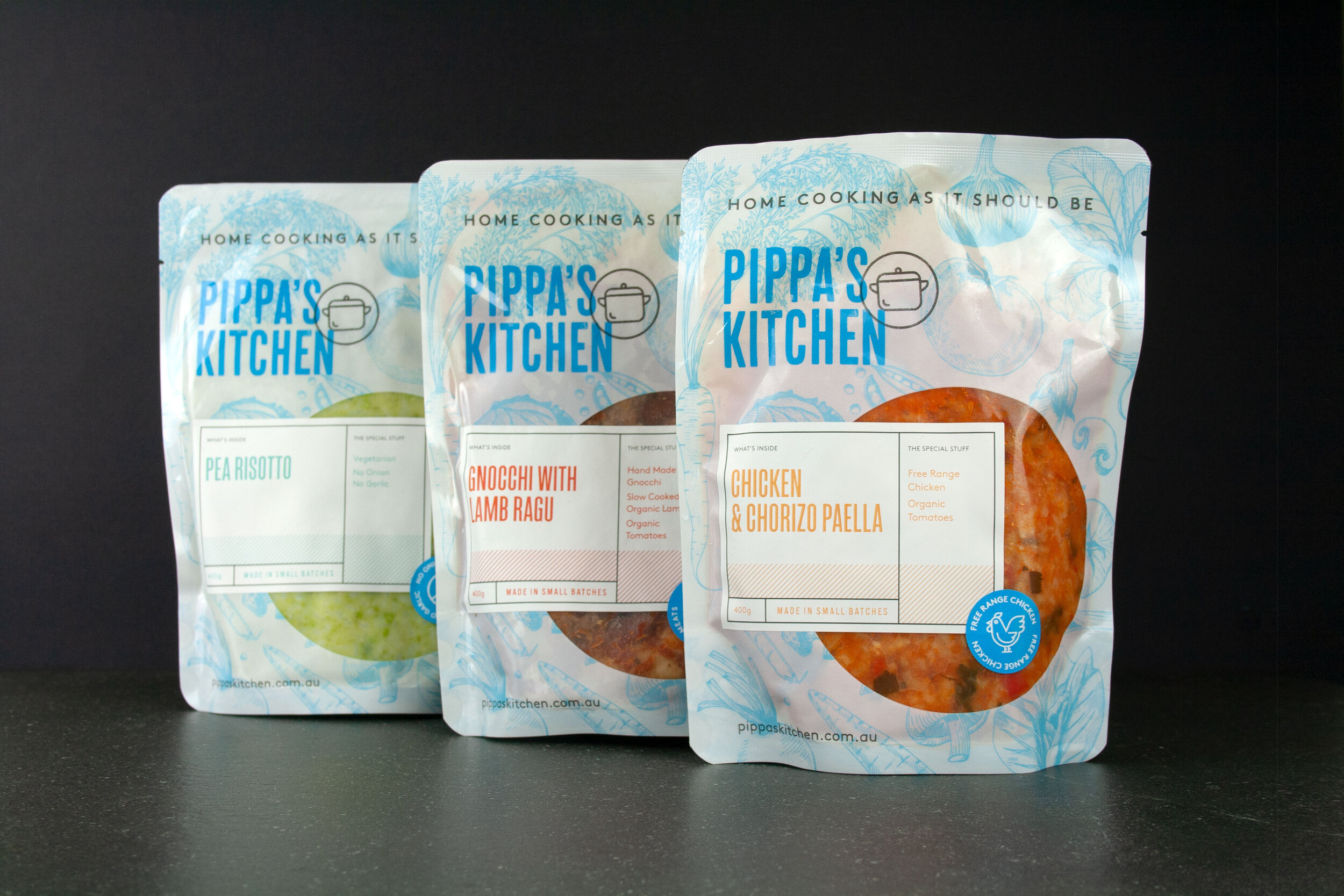 Pippas Kitchen Meal pouches