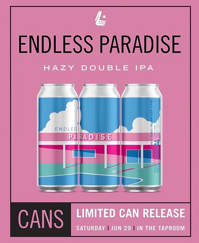 My design tied for first place! Pretty rad to be neck and neck with @erictotherescue and all the other awesome artists! (swipe over for his can design) . . . His can design will be on the Pilsner at the 80's Party and mine will be released the following week as a double hazy IPA, so don't miss it! . . . And thank you everyone that came out to have a good time and vote, it was a blast! Can't wait for the next one @vcbcbeer . . . #calvertillustrations #illustrator #illustration #design #graphicdesign #graphicdesigner #endlessparadise #hazyipa #doublehazyipa #craftbeer #venturacoastbrewery #vcbcbeer #candesign