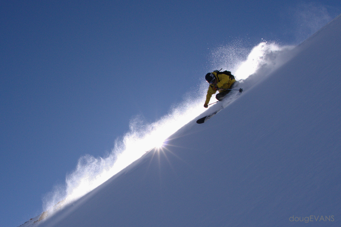 Mark Morris making some difficult conditions look easy. The low angle of the November sun is a photographer's friend.