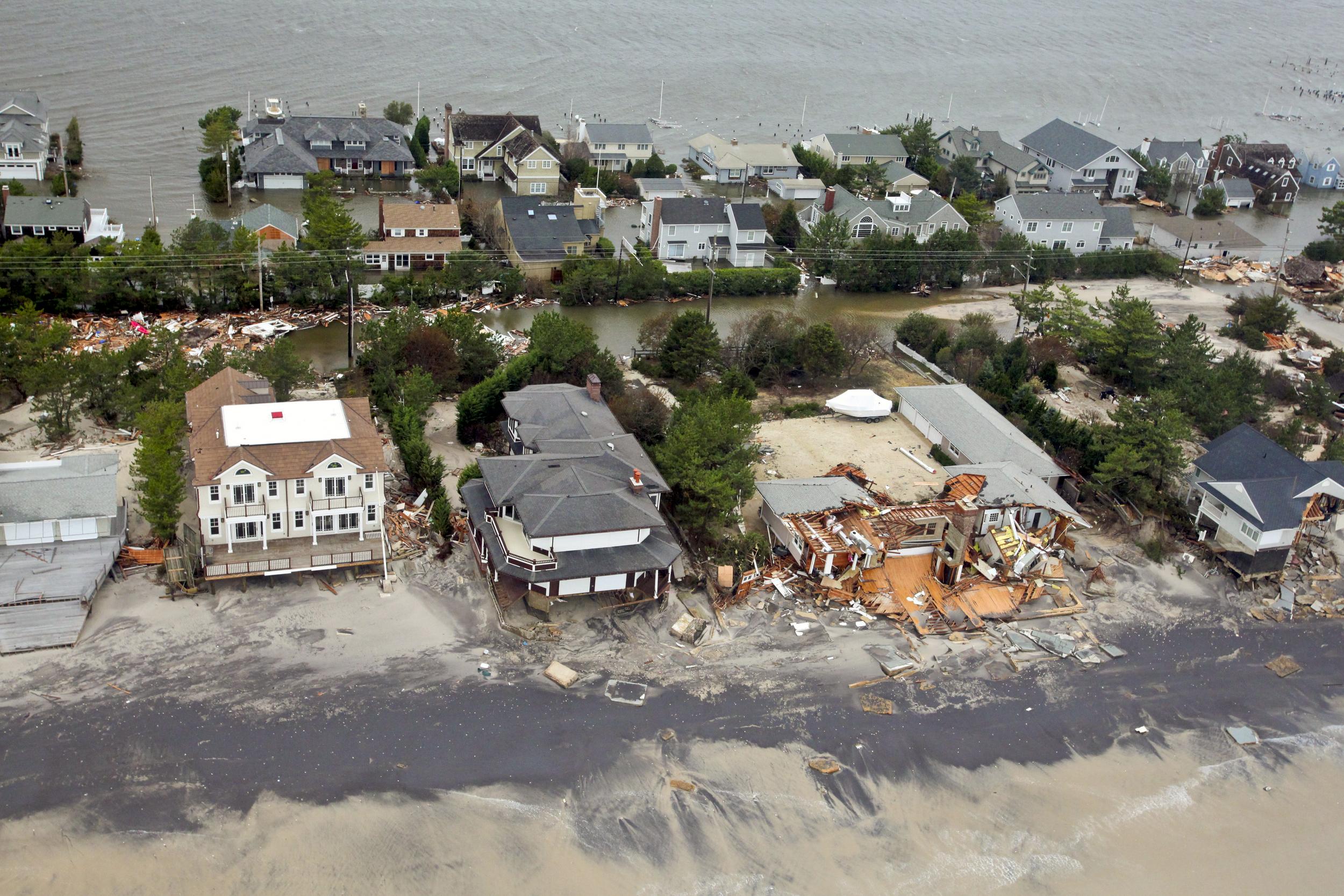 So has  Superstorm Sandy .