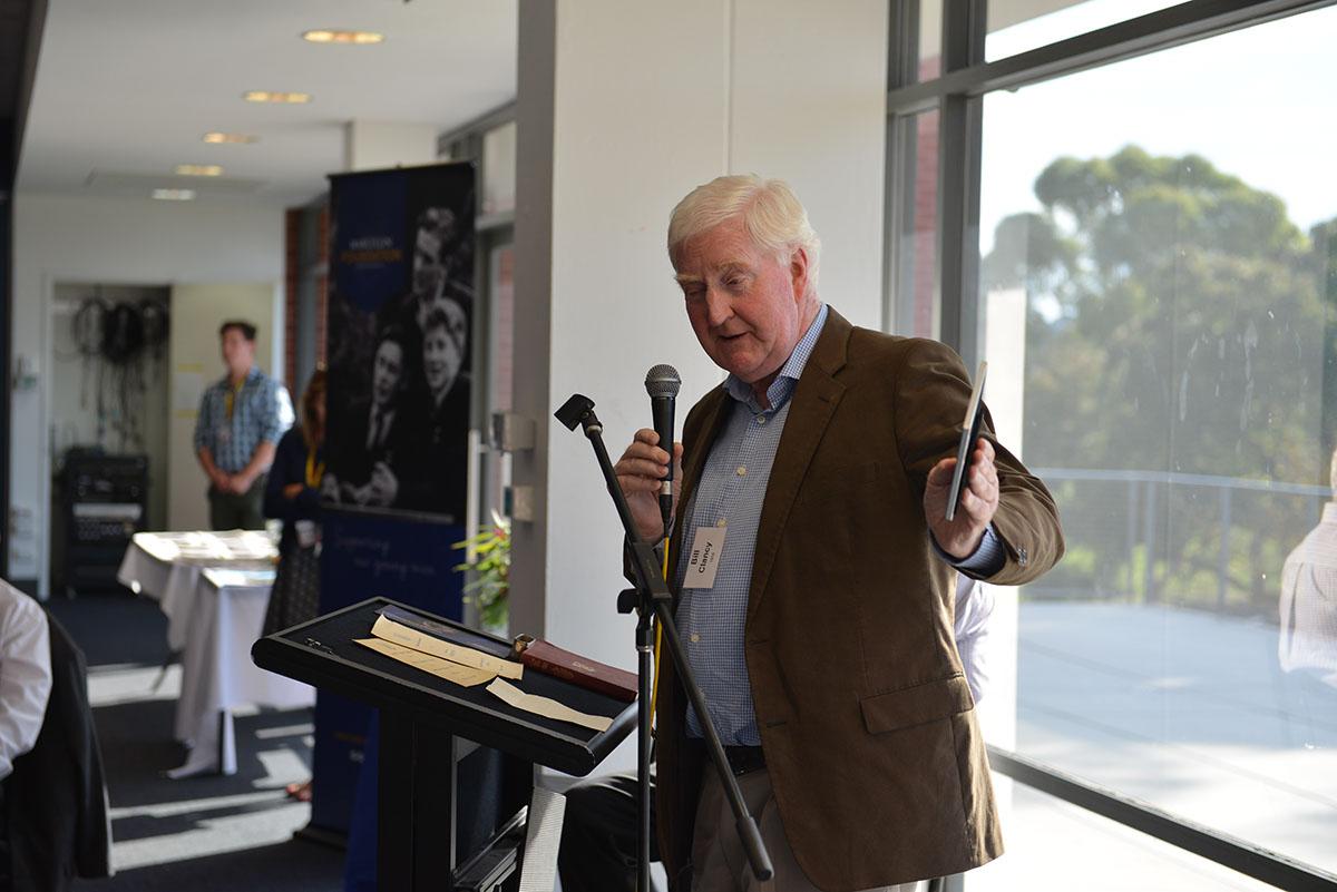 Bill Clancy and some Canterbury Roaders memorabilia
