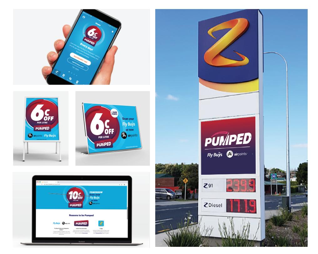 Pumped Fuel Loyalty Program