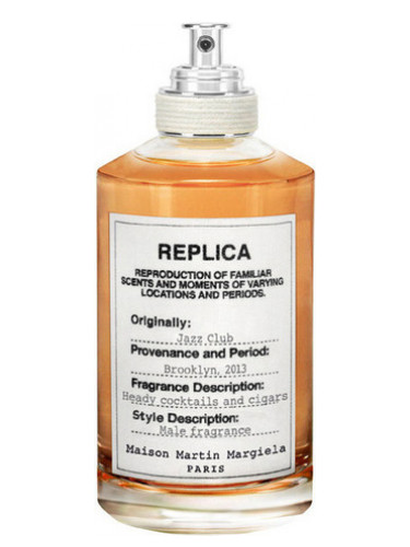 MAISON MARGIELA  'REPLICA' Jazz Club  $126   Pink Pepper, Rum Absolute, Tobacco Leaf Absolute