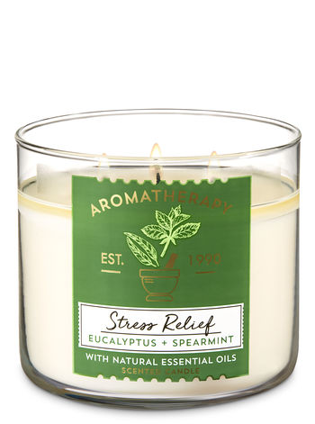 Bath & Body Works Aromatherapy Stress RelieF  $19.98   Eucalyptus, Spearmint