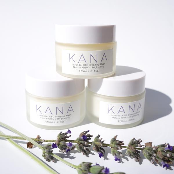 $55 Kana Lavender CBD Sleeping Mask