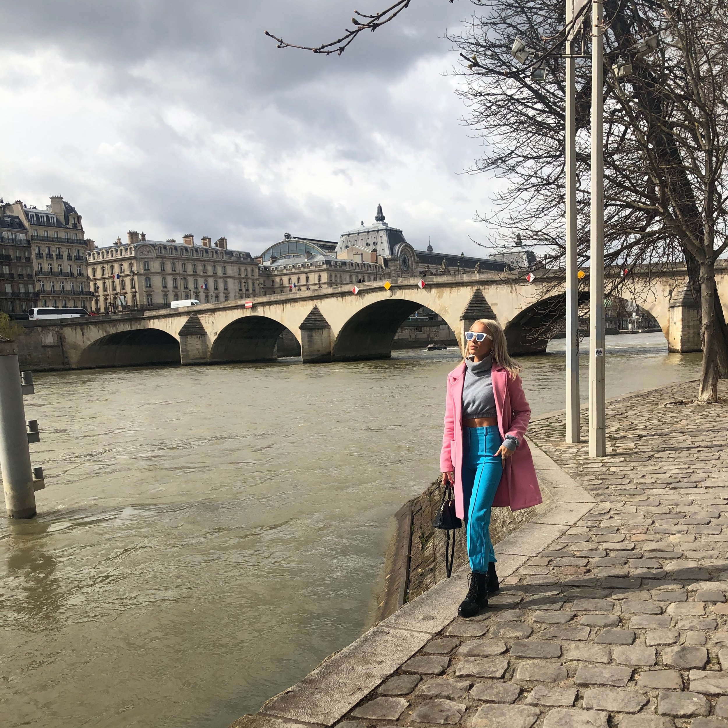 On the Seine River