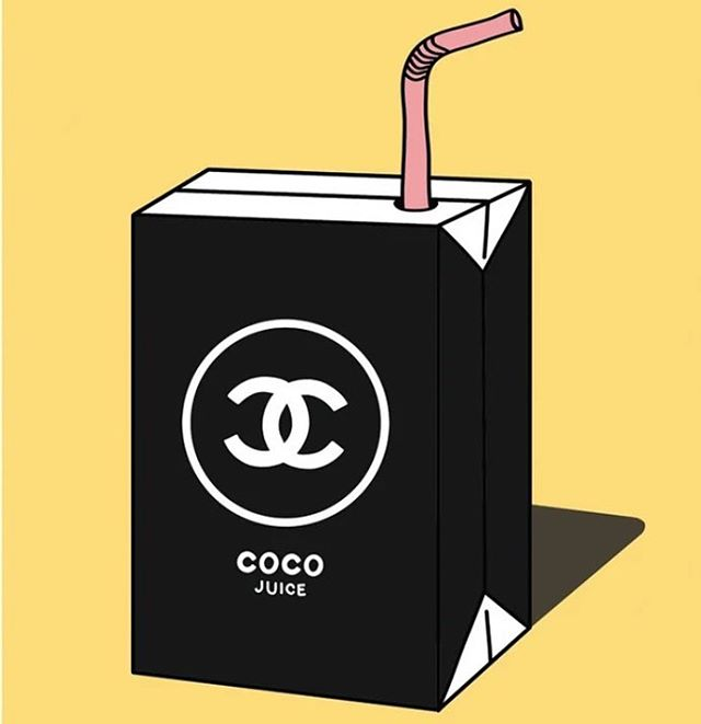 Rollin down the street, smoking indo 🍃sipping on CoCo juiiccceee 🥥 #inarealcoolmood art via @alpo.snow