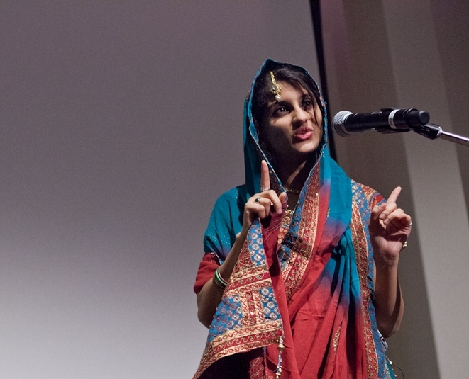 Multilingual Poetry Slam -