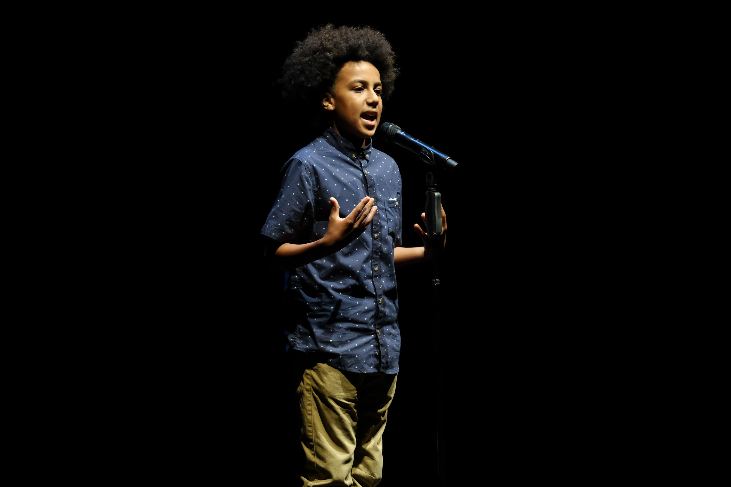 Solli - Raphael thrives on challenges such as raising awareness for important social and global issues and considers himself a budding humanitarian & an enthusiastic environmentalist.At just 13 years of age, Solli performed to an audience of over 5000 at the International Convention Centre Sydney as part of TEDxSydney 2018. He also performed at the 2018 Gold Coast Commonwealth Games to a live audience of 35,000.In 2017 Solli won the Australian Poetry Slam at the Sydney Opera House, holding the title for the youngest ever champion! A video of the winning performance went viral with 3.6 million views.Recently signed with Penguin Random House Australia, Solli's debut book Limelight includes strategies on developing writing ideas, writing traditional and slam poetry along with techniques on how to perform on any stage. Limelight offers motivation, hope and inspiration to youth and people of all ages.See Solli's encore performance at this years' Australian Poetry Slam National Final event.