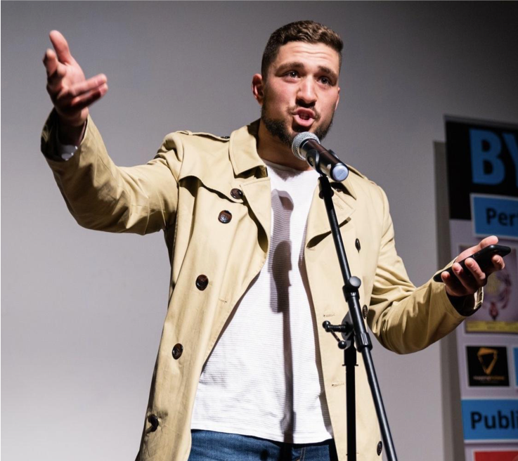 - Ali Al Haj is a UNSW Construction Management graduate, who since attending and performing at Bankstown Poetry Slam, has worked on breaking stereotypes, whether in the workplace or on stage. He expresses his stories, experiences and opinions through spoken word poetry. Over the last 2 years, Ali has performed at events and venues including; Sydney Writers' Festival, a White Ribbon event, the Biennale of Sydney, Parliament House Canberra, and 3 consecutive Bankstown Poetry Grand Slams.Appearing at My Dream Show