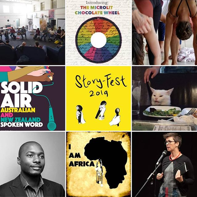 Catch 8 storytelling experiences with a Festival Pass this weekend at Story-Fest!  Featuring a yoga and movement workshop, talks with international artists, open mic slams, and performances by some of Australia's best wordsmiths ... all for just $34 🎤 . #story_fest #wordtravels #australianpoetryslam #poetry #poetryslam #slampoetry #spokenword #storytelling #sydney #writing #festival