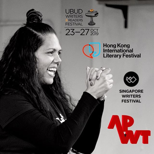 Melanie Mununggurr-Williams, the 2018 @australian_poetry_slam Champion kicks off her South-East Asian tour tonight at Ubud Writers & Readers Festival! 🎤