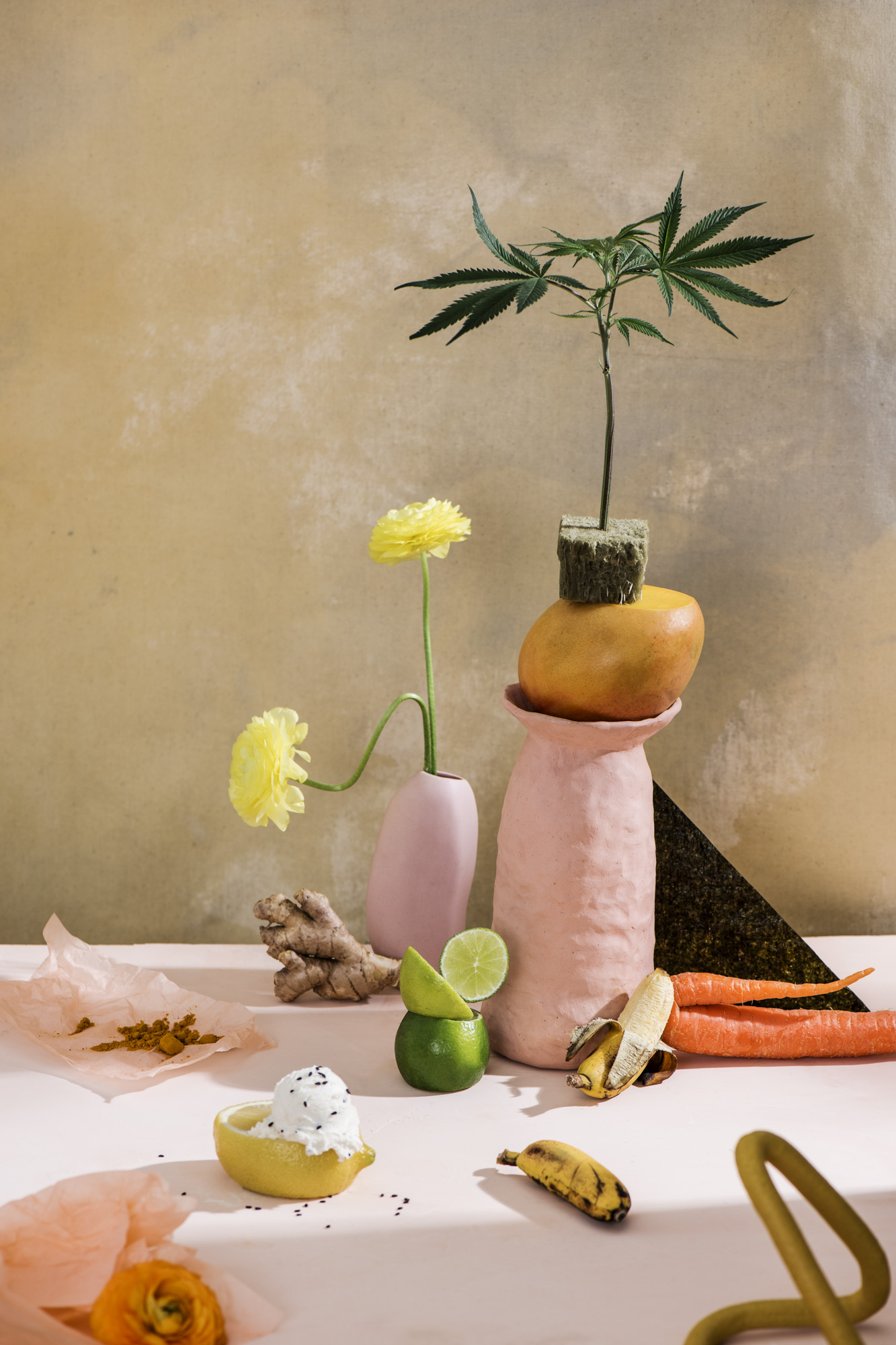 for  broccoli mag x healthyish x bon appetit  / photo by  julia stotz  / food styling by  casey dobbins  / props styling by  samantha margherita