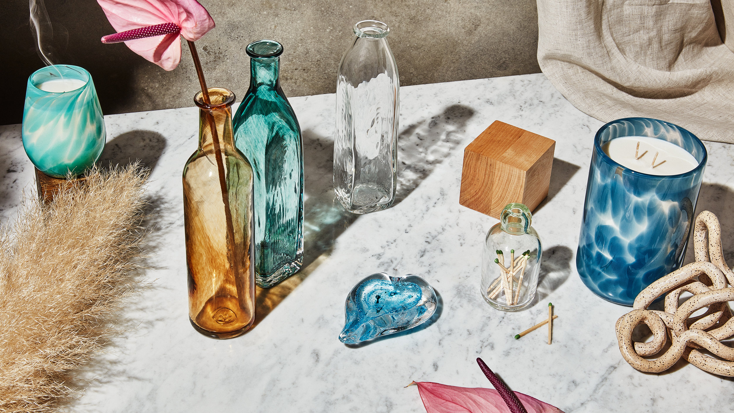 for  cheryl saban glass  / photo by  stephanie gonot  / styling & props by  samantha margherita