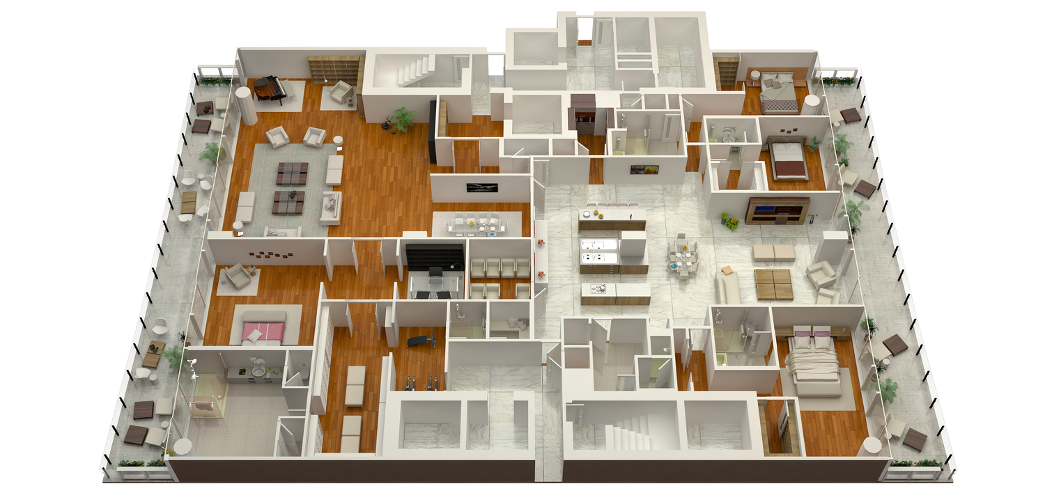 3d floorplan rendering benefits