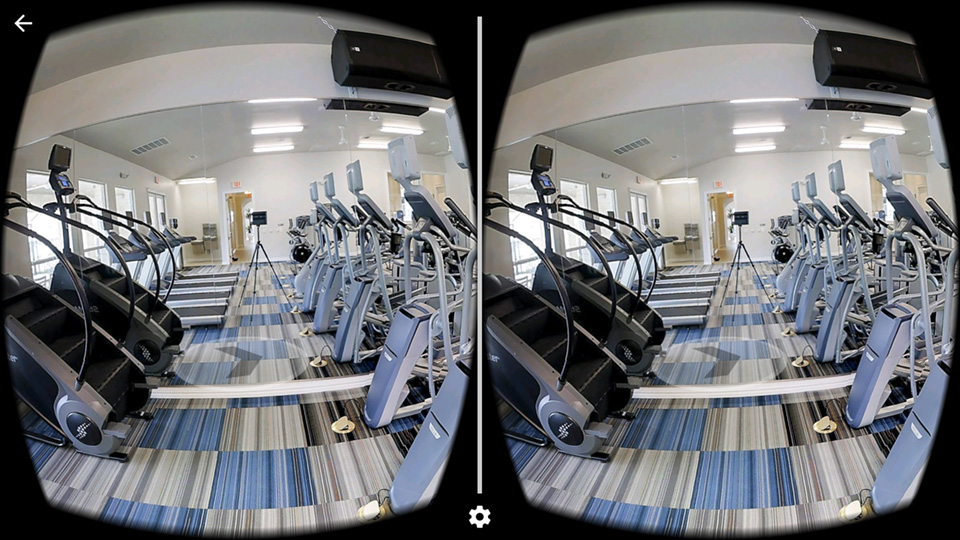 Augmented reality is possible because it displays two images, one for each eye. When wearing a VR headset, both of the images are processed as one, which means you'll perceive a 3-dimensional space, where you'll even be able to move in real time.