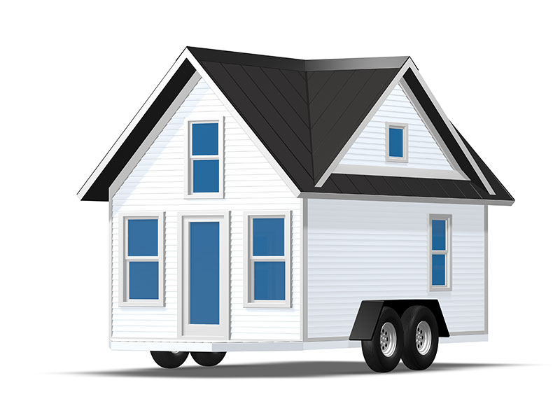 From simple designs of tiny house exteriors