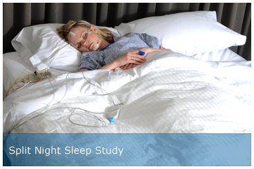 Split Night Sleep Study
