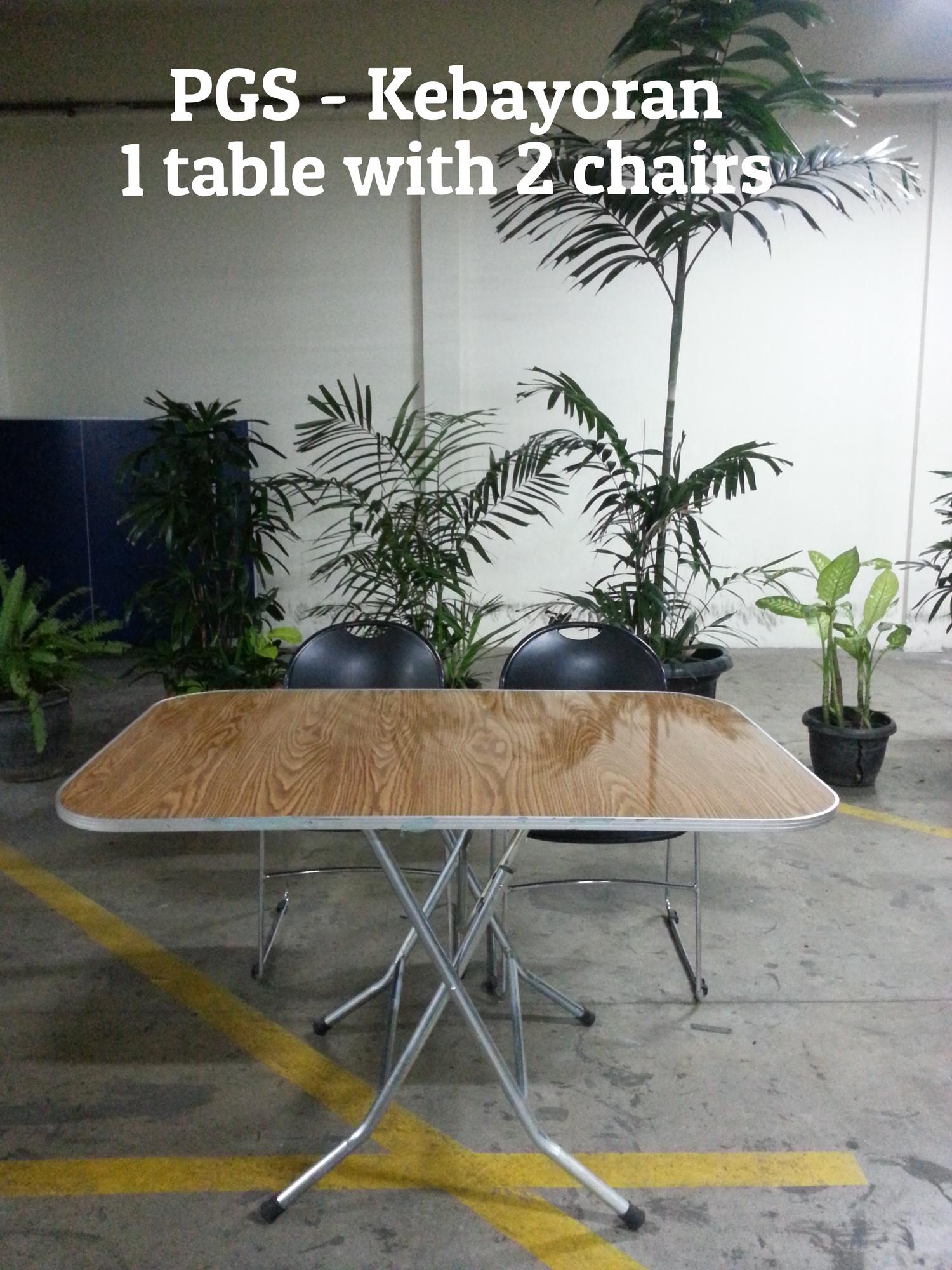 PGS - Kebayoran  1 table with 2 chairs