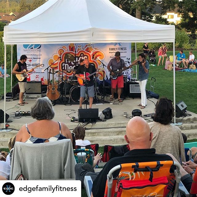 The show last night for @musicatmontague was awesome!! Such a fun event!  Thank you to everyone that came out and made it so much fun!! Posted @withrepost • @edgefamilyfitness Thank you for everyone that came out last night for The Music @ Montague Park Concert Series last night! Good times were had, dance moves were shown and a few people won some prizes courtesy of @rohillcoinsurance and @jaxxs2themaxx @h2osurfgirl1111!  We hope to see everyone next week for the final show of the season Starring the @mhpband!  #edgefamilyfitness #waterstonerealtygroup #brianodellband #mhpband #izumijapaneserestaurant #rohillcoinsurance #tumwatervineyard #musicatmontague2019 #wilsonvilleoregon