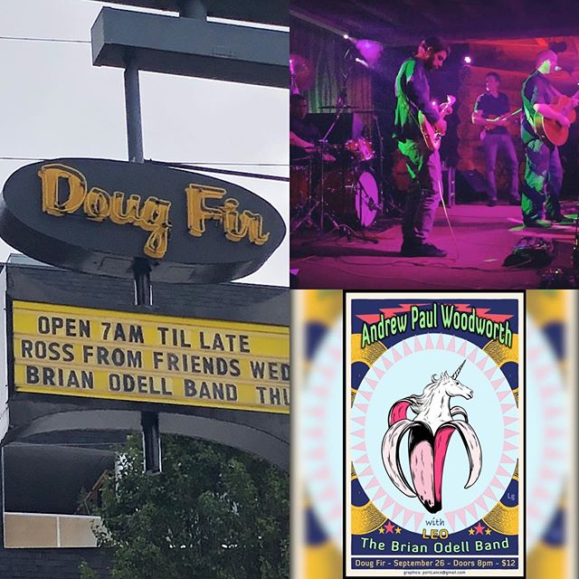 TONIGHT!! Join us for an incredible night of local music at @dougfirlounge !! So excited to join @hellomegandiana and @apwoodworth for what we know will be a very special evening!! Doors: 8p Show starts: 8:30p Tickets: $10  #brianodellband #lovelivemusic #portlandmusic #dougfirlounge