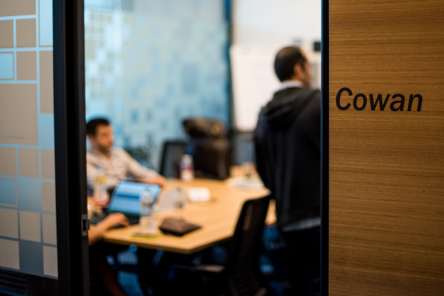 The Cowan room in Microsoft's Sydney office was where we convened for the 3 days.