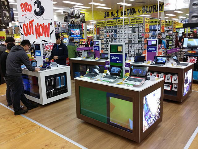 Microsoft Surface is a hit with JB Hifi customers.
