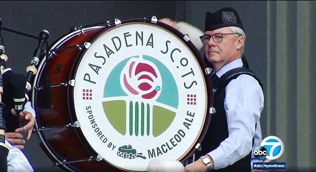 Follow the link in the bio to see the article from @abcnews following our performance yesterday! It was an honor to play for our service members returning home! . . . . . #pasadenascots2019 #pasadenascots #macleodeale #pipesanddrums #pipebands #bagpipes #scottish #highlanding #highlandgames #tenordrumming #snaredrumming #pasadena #wspba #scotland