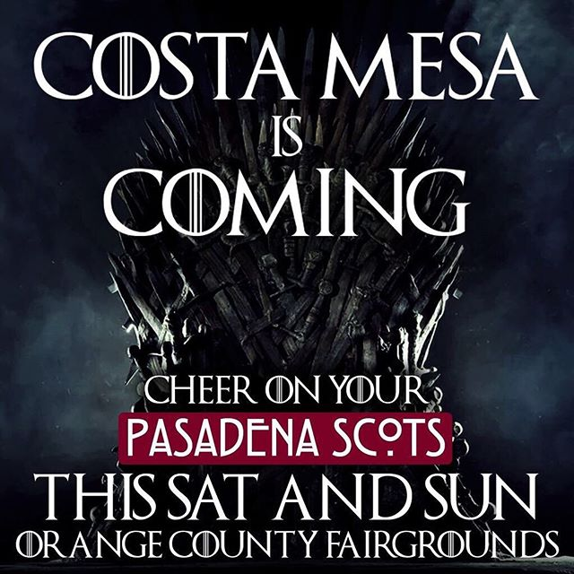 Come watch the Pasadena Scots Grade 3 & 5 compete this weekend at @scottishfest | Orange County Fairgrounds! . . . . #pasadenascots2019 #pasadenascots #macleodeale #pipesanddrums #pipebands #bagpipes #scottish #highlanding #highlandgames #tenordrumming #snaredrumming #pasadena #wspba #scotland  #scotishfest #scotsfest #scotsfest2019