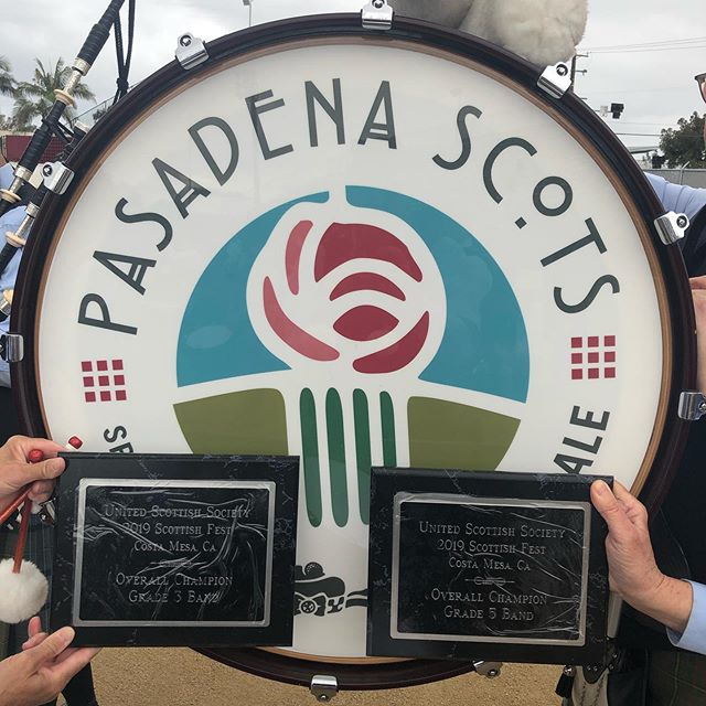 Another amazing weekend for the Pasadena Scots! Huge thanks to the @scottishfest for the amazing weekend! Can't wait for next year! . . . . . #pasadenascots2019 #pasadenascots #macleodeale #pipesanddrums #pipebands #bagpipes #scottish #highlanding #highlandgames #tenordrumming #snaredrumming #pasadena #wspba #scotland  #scotsfest #scotsfest2019