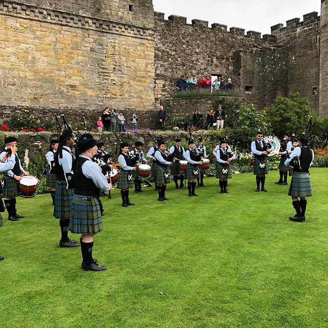 A little #tbt to green fields, castles, and winning a world championship! Don't forget to buy tickets for our concert, A Champion's Journey, this Sunday at 3 PM!! Link for tickets in Bio! . . . . . #pasadenascots2019 #pasadenascots #macleodeale #pipesanddrums #pipebands #bagpipes #scottish #highlanding #highlandgames #tenordrumming #snaredrumming #pasadena #wspba #scotland  #tbt #throwbackthursday