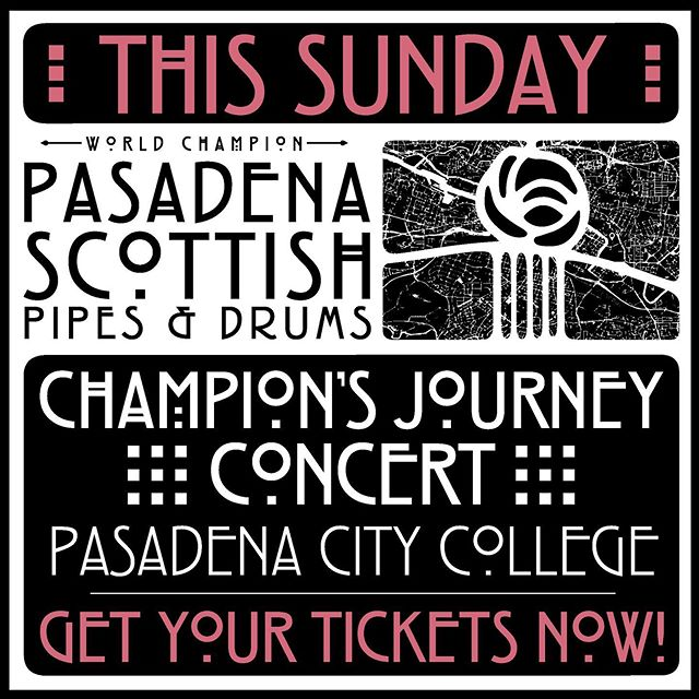 Online ticket sales end tonight at Midnight! Link in bio. We only have a few tickets left! Tickets will be sold at the door if we have them available, but they will be very limited! Get your tickets before they're gone! . . . . . #pasadenascots2019 #pasadenascots #macleodeale #pipesanddrums #pipebands #bagpipes #scottish #highlanding #highlandgames #tenordrumming #snaredrumming #pasadena #wspba #scotland  #pride #pasadenacitycollege #livemusicpasadena #livemusic #concerts #pasadenalocal