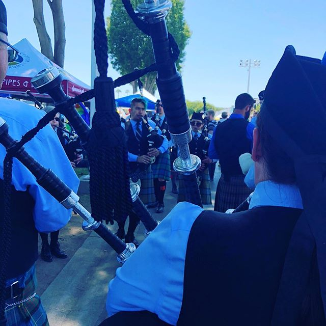 Happy #bagpipeappreciationday from the Pasadena Scots!