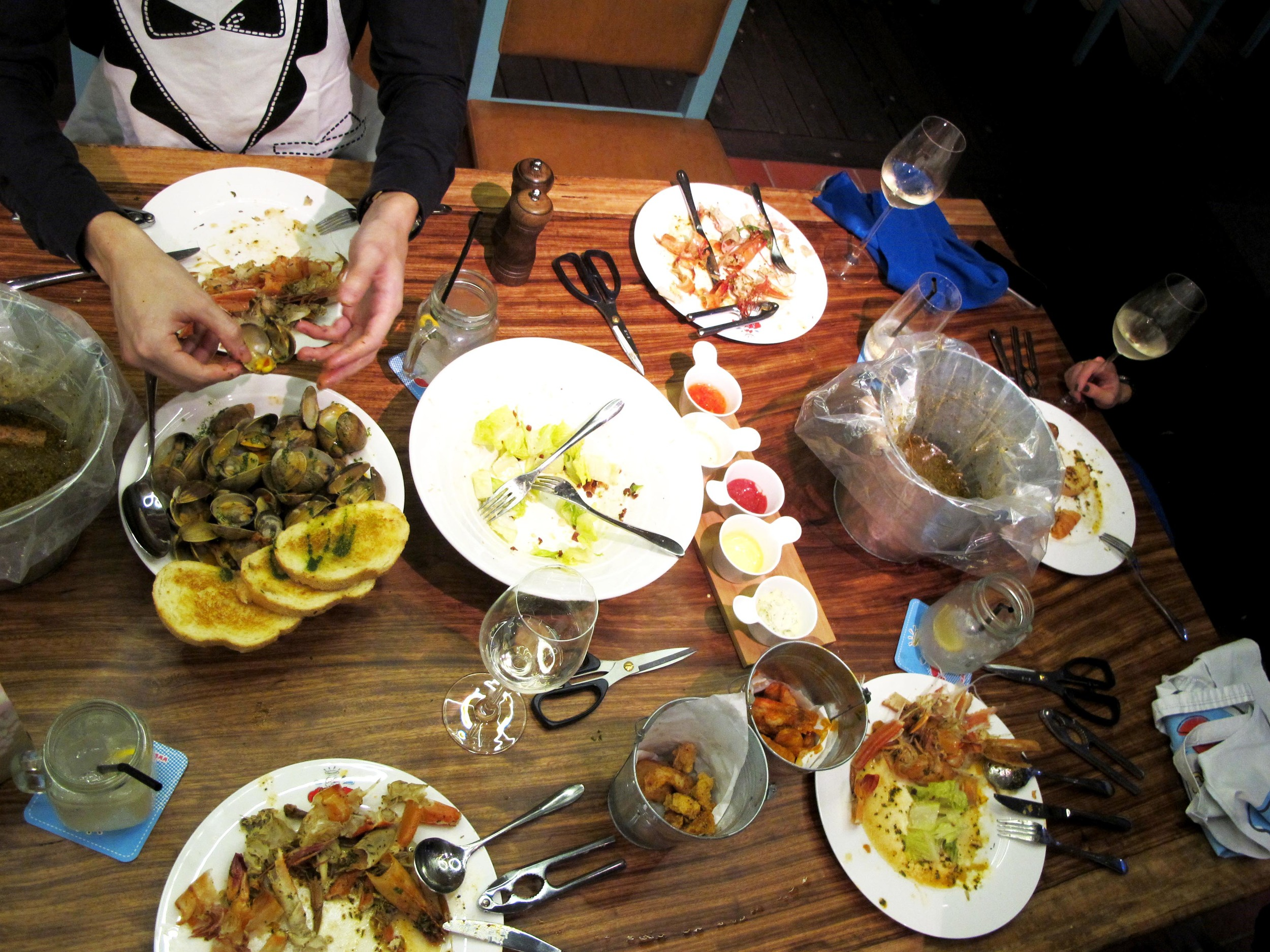a feast that is better shared with a group, so you can order all the food!