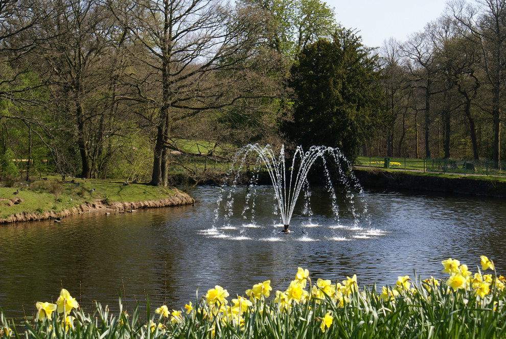 pretty standard crap fountains in parks (img - pintrest)