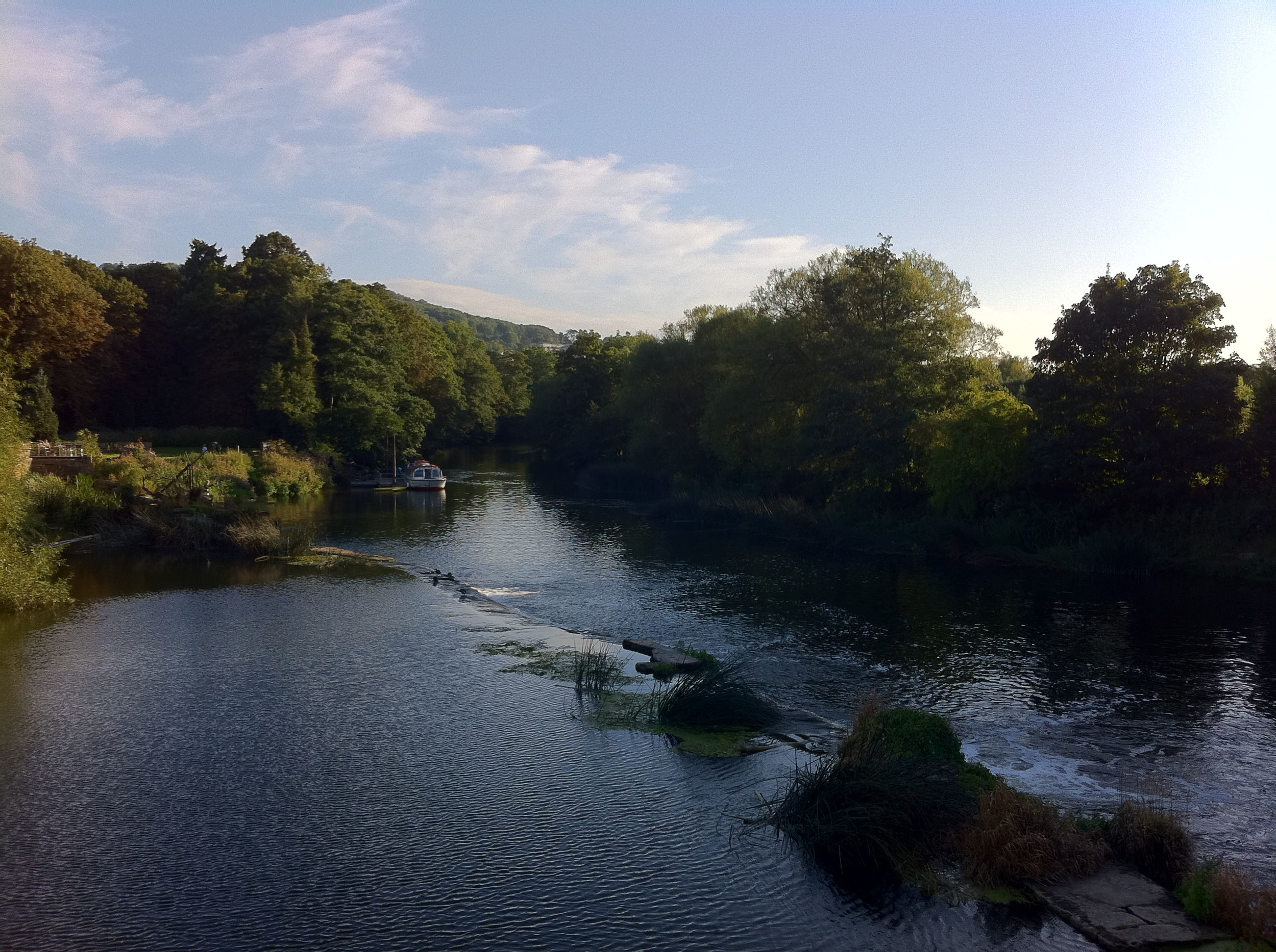 the beautiful river which was one while minute away from my old office.