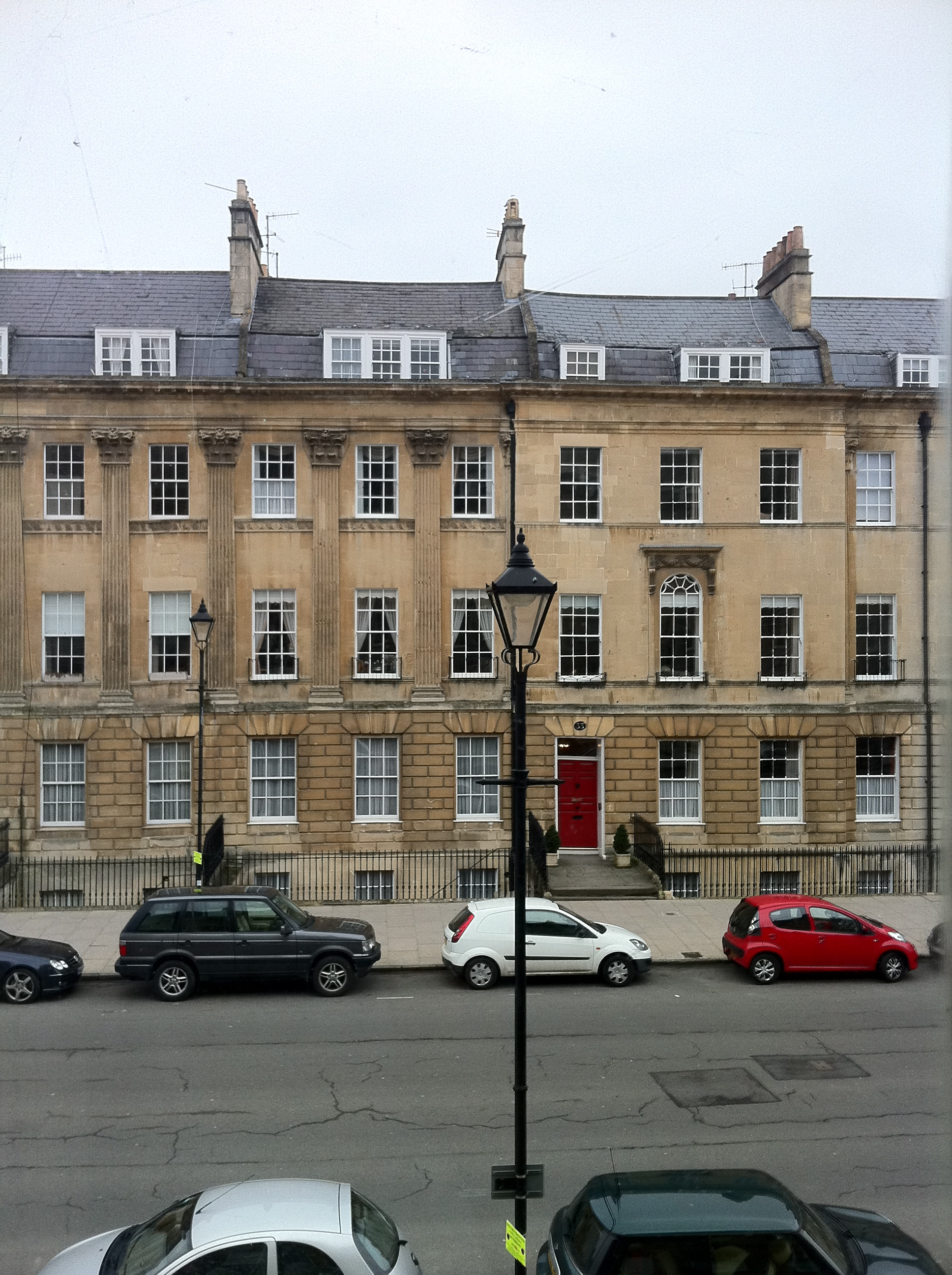 the view from my old flat - how lovely are these buildings?