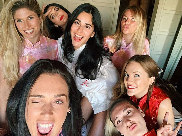 "Hen 3/3 ❤️ My wolf pack ❤️ #awooo  When I told my friends I wanted a London hen party they were all over it. They also decided I needed another one in a ""secret"" location. This weekend will forever be remembered as a time in my life when I was never more in love with my friends or more hungover."