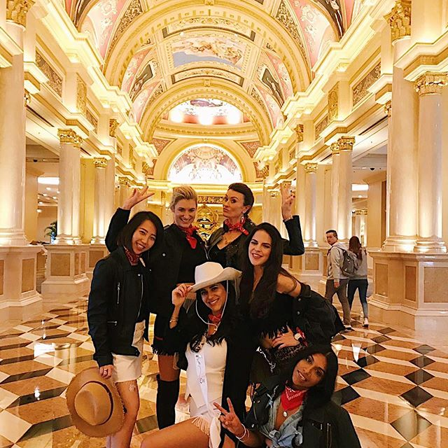 "Hen 1/3  The Wild Wild East. ""Keep Saturday the whatever free"" Ok. Didn't ask any questions and didn't ever expect these Hong Kong lovelies to throw me such an incredible hen in Macau. Just a huge testament to the friends that became family out there ❤️❤️❤️"