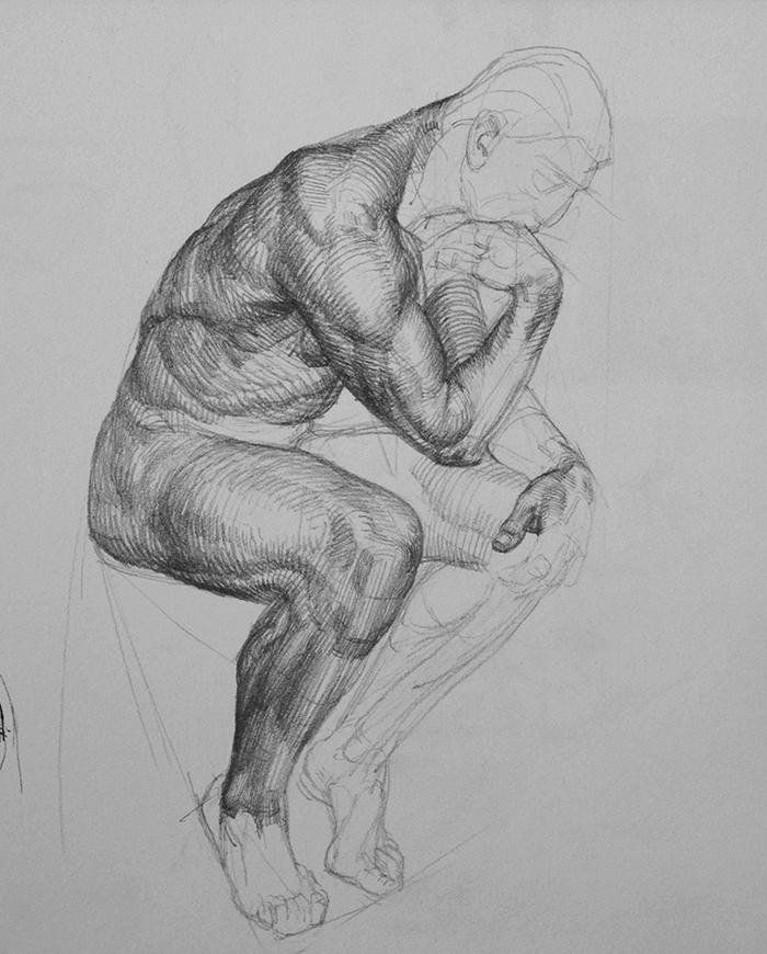 After Rodin.Alte Nationalgalerie, Berlin