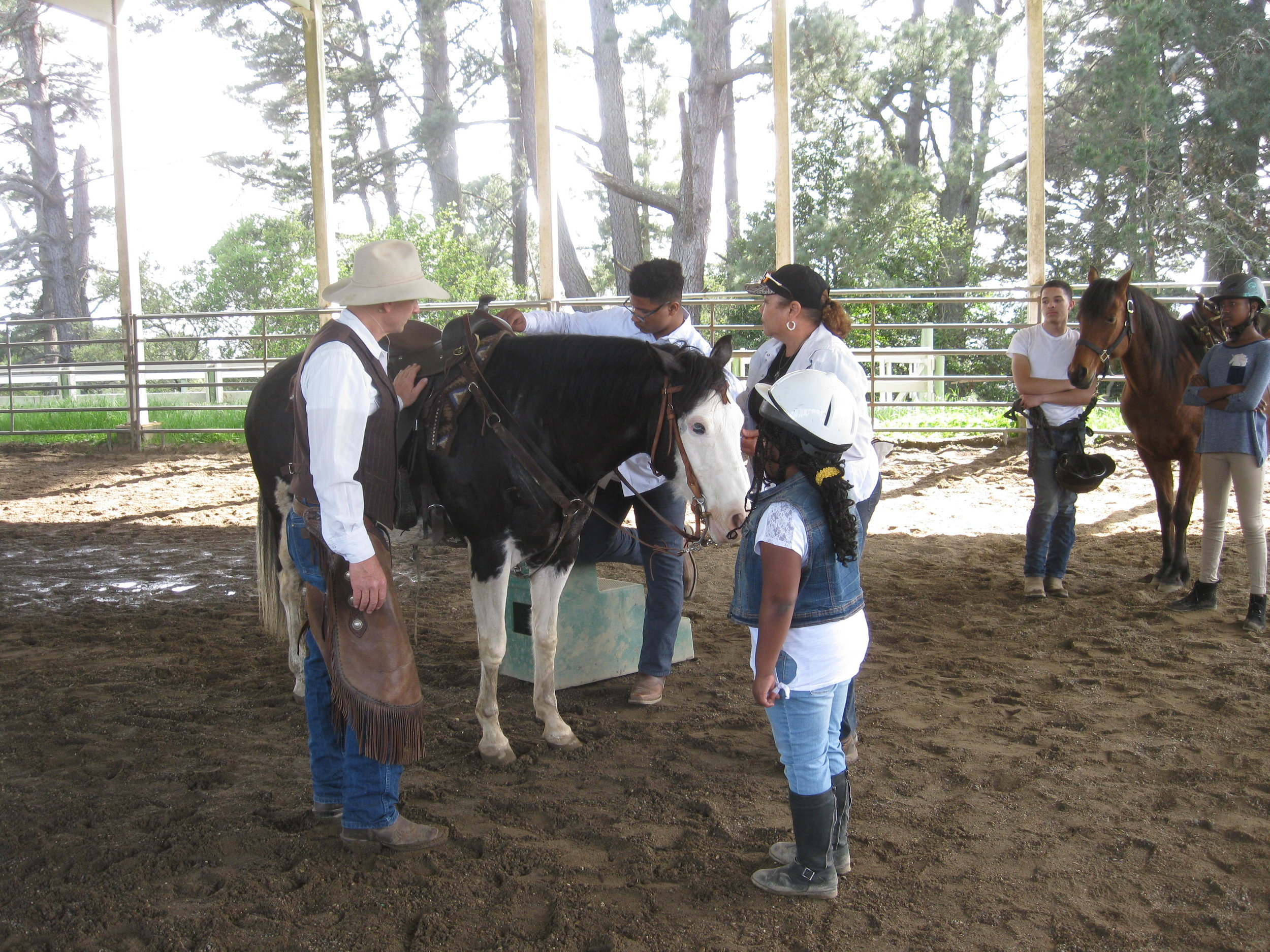 Chris talks about building a relationship with your horse.